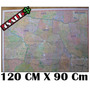 Mapa São Paulo Centro Expandido 120cm X 90cm + Nfe!