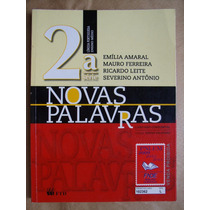Português Novas Palavras Volume 2 - Emília Amaral E Outros
