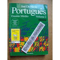 Português José De Nicola Ensino Médio Volume 2 P1
