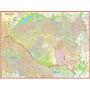 Mapa Gigante Da Zona Leste De São Paulo Tamanho 1,20 X 0,90m