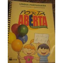 Lingua Portuguesa - Porta Aberta Super Conservado,muito Novo