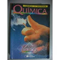 Livro Química Volume Único - Usberco E Salvador
