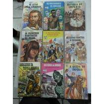 Lote Com 22 Livros Historia Temas Brasileiros Ed. Record