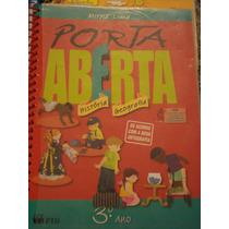 Livro De História/geografia - Porta Aberta - Nova Ortografia