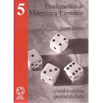 Livro Matemática Elementar Combinatória Probabilidade 1993