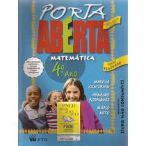 Porta Aberta 4º Ano Renovada- Matemática - Marilia Centurion