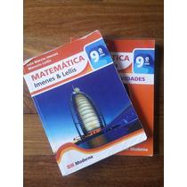 Livro De Matematica E Caderno De Atividades 9º Ano-moderna