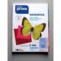 Matemática Projeto Prosa - 3o Ano - Padovan - Guerra - Milan