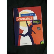 Gramática De Hoje Ernani&nicola Livro Escolar
