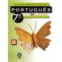 Livro Português Em Cena 7ºano Escala Educacional Promoção!!!