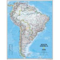 Mapa Gigante Hd América Do Sul Norte Mundi Rs - Sedex Grátis
