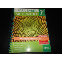 Para Saber Matemática 8º Luiz Cavalcante (para O Professor)