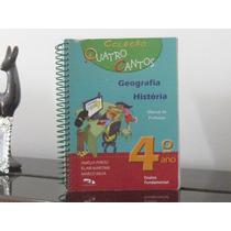 Coleção Quatro Cantos 4° Ano Amélia Porto Livro Professor