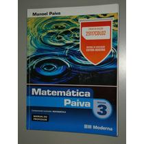 Livro Matemática Paiva Volume 3 -