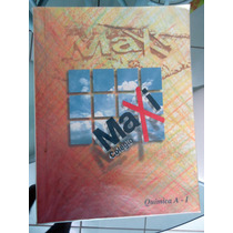 02 Livros Química Maxi - Caderno De Questões