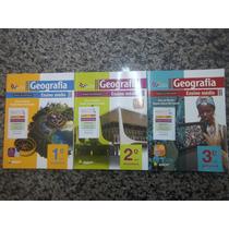Coleção Livro De Geografia Do Professor 3 Volumes