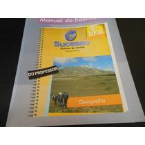 Livro- Sucesso Sistema De Ensino Geografia 9º Ano