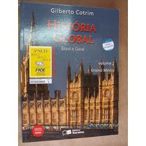 Historia Global Brasil Geral Volume 2 Cotrim Otimo Estado H8