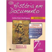 História Em Documento -manual Do Professor- 7ºano- Domingues