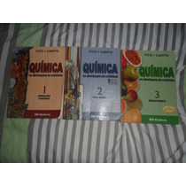 Química Na Abordagem Do Cotidiano - Tito E Canto Col. 3 Vols