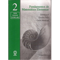 Livro - Fundamentos De Matemática Elementar, Vol. 2.