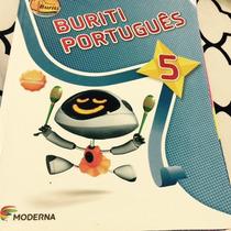 Livro Projeto Buriti Português 5 Ano Ed. 2013