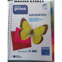 Projeto Prosa Matemática 3º Ano Para O Professor Aa