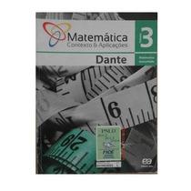 ^â^ -livro -matemática- Contexto E Aplicações Vol.3 - Dante