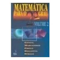 Matemática Para O 2º Grau Vol 3 - Gentil Marcondes Greco