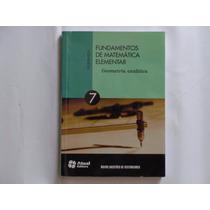 Fundamentos De Matemática Elementar - 2013 - Volume 7