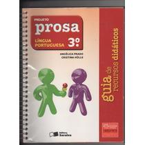 Projeto Prosa Língua Portuguesa 3º Ano Para O Professor Hh