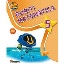 Livro Projeto Buriti Matematica 5° Ano C/ Dvd - Ed. Moderna