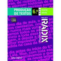 Livro Projeto Radix Produção De Textos 6º Ano Promoção!!!