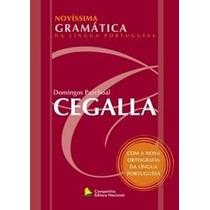 Novíssima Gramática Da Língua Portuguesa Cegalla