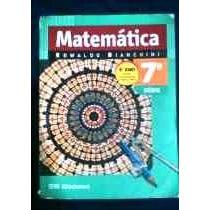 Matematica 8º Ano Edwaldo Bianchini Moderna