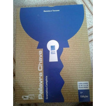 Livro Palavra Chave Gramatica Vol Único R$ 45,00