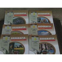 Livros Geografia Coleção Objetivo 6 Volumes