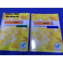 D- 2 Livros Ensino Médio Sistema Ser Da Abril Caderno 12 E 7