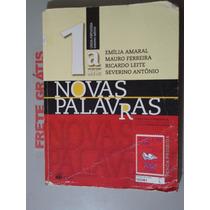 Livro Português - Novas Palavras 1ª Série