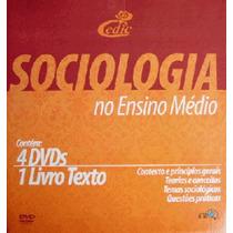 Coleção Sociologia No Ensino Médio Com 4 Dvds