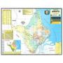 Mapa Do Estado Do Amapá --- Político --- 117 X 89 Cm