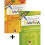 Kit Livros Caligrafia Números Letras Numerais