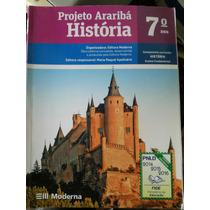 Livro: História 7°ano - Projeto Arariba