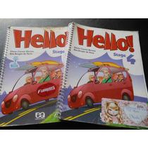 Livro Hello! Stage 4 Eliete Morino (livro Usado )