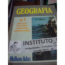 Geografia Melhem Adas Volume 4 Editora Moderna 8a. Série