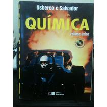 Livro Química Volume Único, 7ª Ed. - Usberco E Salvador - Cd