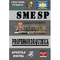 Apostila Do Concurso Sme Sp Professor Quimica 2016