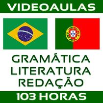 Curso Português Para Concursos Gramática Literatura Redação