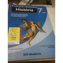 Livro História 7 Projeto Araribá -2007