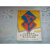 Língua Literatura E Redação José De Nicola Volume 3 Editora
